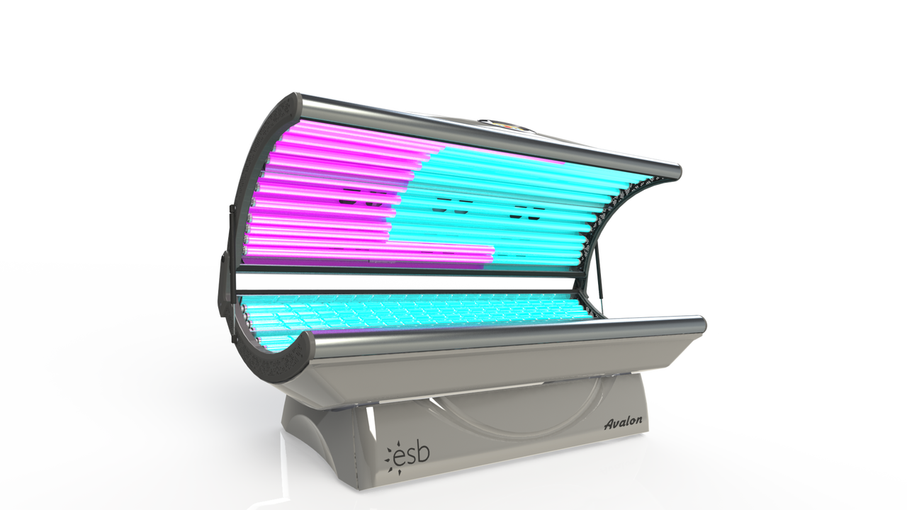 purchase a new avalon 20 lamp home tanning bed